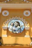 christ jesus staty Arkivfoton