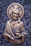 christ jesus staty Arkivbild