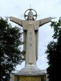 christ jesus staty Royaltyfria Bilder