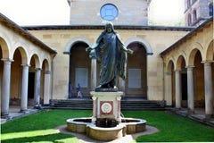 christ jesus staty Royaltyfri Fotografi