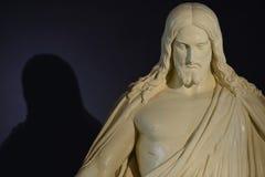christ jesus staty Arkivbilder