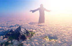 The Christ royalty free stock photo
