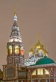 christ kadashi wskrzeszania s świątynia Zdjęcie Royalty Free