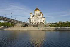 christ katedralny wybawiciel Jesus Moscow Obraz Stock