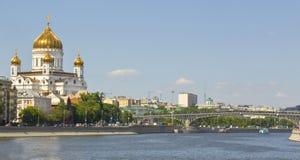 christ katedralny wybawiciel Jesus Moscow Obrazy Stock