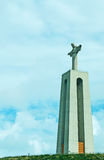 Christ the King monument in Almada Stock Photography