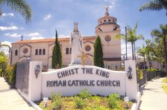 Los Angeles Roman Catholic Church Stock Photo