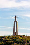Christ the King statue in Almada Royalty Free Stock Photo