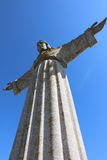 Christ the King Statue in Lisbon Royalty Free Stock Photo