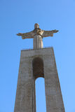 Christ the King Statue in Lisbon. Portugal Royalty Free Stock Image