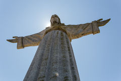 Christ the King in the sun Royalty Free Stock Photography