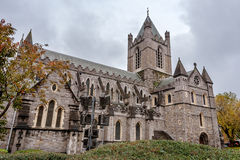 Christ-Kirche-Kathedrale. Dublin, Irland Stockfotografie