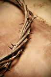 christ korony Jesus ciernie Obrazy Royalty Free