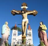 christ kors jesus Arkivbilder
