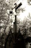 christ korsfäste royaltyfri bild
