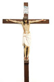 christ korsfäste jesus Arkivbilder