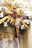 christ korsfäste jesus Arkivbild