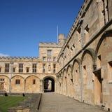 christ kyrklig högskola oxford Royaltyfri Foto