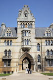 christ kyrklig stadshögskola oxford Royaltyfri Fotografi