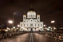 Christ la cattedrale del salvatore Fotografie Stock Libere da Diritti