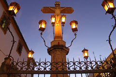 Christ of the Lanterns in Cordoba Royalty Free Stock Photography
