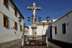 The Christ of the Lanterns, Cordoba, Spain Stock Images