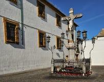 The Christ of the Lanterns, Cordoba, Spain Royalty Free Stock Photo
