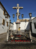 The Christ of the Lanterns, Cordoba, Spain Royalty Free Stock Photos