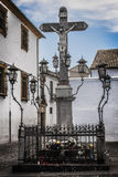 Christ of the Lanterns. Christ of the Lantern, and catholic religious image highly revered in Cordoba, Andalusia, Spain, a World Heritage Site. The Christ of the Royalty Free Stock Images