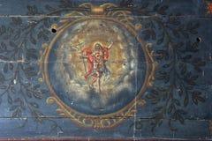 Christ levantado imagem de stock