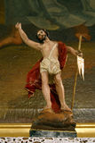 Christ levantado foto de stock