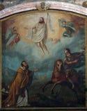Christ levantado foto de stock royalty free