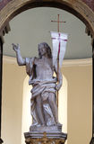 Christ levantado imagens de stock