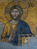 Christ-Mosaik, Hagia Sophia Stockfotografie