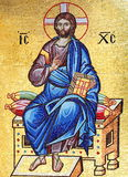 christ mozaika Jesus Obraz Stock