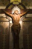 Christ na cruz imagens de stock