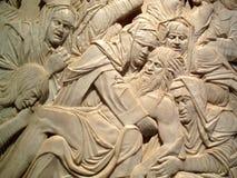 christ nieżywa biadolenia rzeźba zdjęcia stock