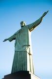 christ odkupiciel De Janeiro Rio Obraz Royalty Free