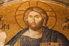 Christ Pantocrator in Chora Church Royalty Free Stock Photography