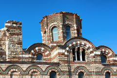 Christ Pantocrator Church in Old Nessebar town, Bulgaria. Stock Image