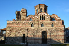Christ Pantocrator Church in Old town Nessebar, Bulgaria Stock Image