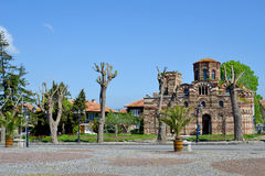 The Christ Pantocrator Curch in Nessebar,Bulgaria Stock Photos