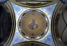 Christ Pantocrator mosaic Royalty Free Stock Images