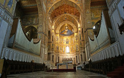 The Christ Pantokrator. Cathedral of Monreale Stock Photography