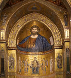 The Christ Pantokrator. Monreale, Sicily Royalty Free Stock Photography