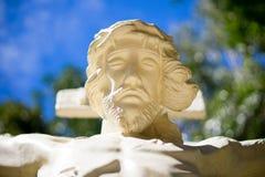 christ przecinający Jesus Obrazy Stock