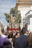 Christ in Puerto Real royalty free stock photo