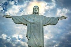christ redeemer Arkivbild
