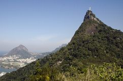 Christ the Redeemer. Brazil Royalty Free Stock Photography