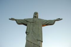 Christ the Redeemer - Christo Redentor. Christ the Redeemer Statue in Rio de Janeiro, Brazil Stock Photo